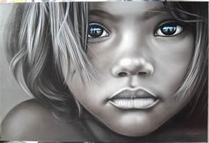 Peinture Visage Femme : gar on visage peinture peinture l 39 huile sur toile 32 x ~ Melissatoandfro.com Idées de Décoration
