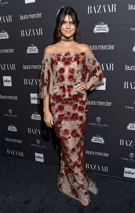 The Kardashian-Jenners at Harper's Bazaar Icons Event 2016 ...