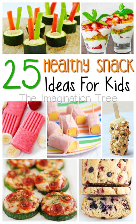 healthy snacks for the imagination tree 764 | healthysnacks pin title