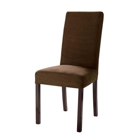 housse de chaise chocolat pas cher housse et galette de chaise pas cher promo et soldes la