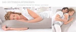 Kopfkissen Seitenschläfer Testsieger : seitenschl ferkissen kissen f r seitenschl fer ~ Watch28wear.com Haus und Dekorationen