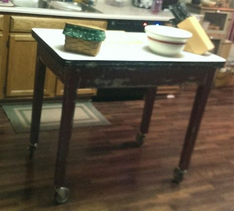 antique kitchen island table 13 best ideas about vintage tables on 4100