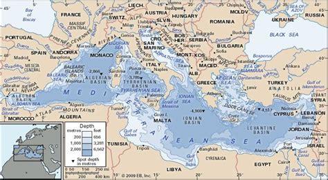Mediterranean Sea Britannicacom