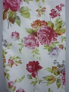 Stoff Mit Blumen : landhaus deko stoff vorhang gardine bormio mit blumen blickdicht meterware neu ebay ~ Watch28wear.com Haus und Dekorationen