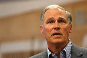 Jay Inslee challenges Trump over arming teachers
