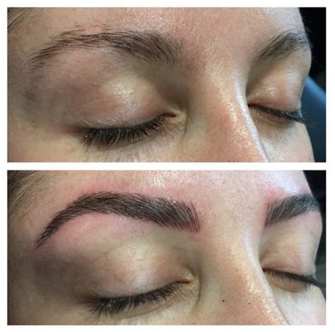 eyebrow makeover  feather touch tattooing alison jade