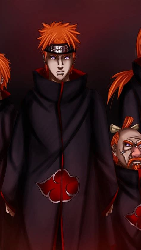 Akatsuki Cool Wallpapers Iphone by Six Paths Of Kages Iphone 6 Wallpaper