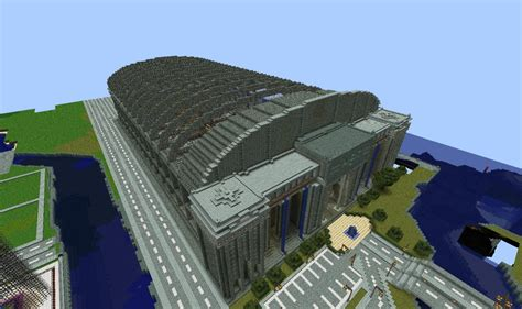 home design diamonds central railway station minecraft project