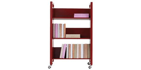 Small Portable Bookshelf In Contemporary Style