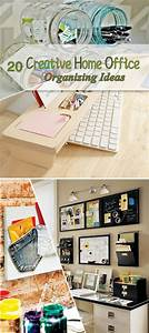 Creative, Home, Office, Organizing, Ideas, That, Can, Make, You