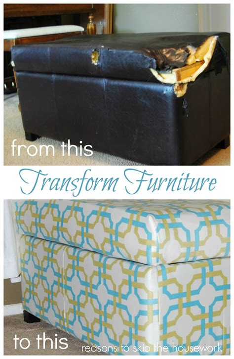 How To Recover Ottoman by Ottoman To Storage Box Reasons To Skip The Housework