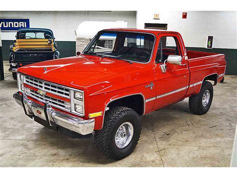1986 Chevrolet Silverado by 1986 Chevrolet Silverado For Sale Classiccars Cc