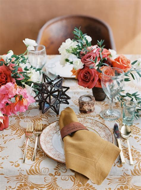 elena damy a mexican themed wedding centerpiece we love