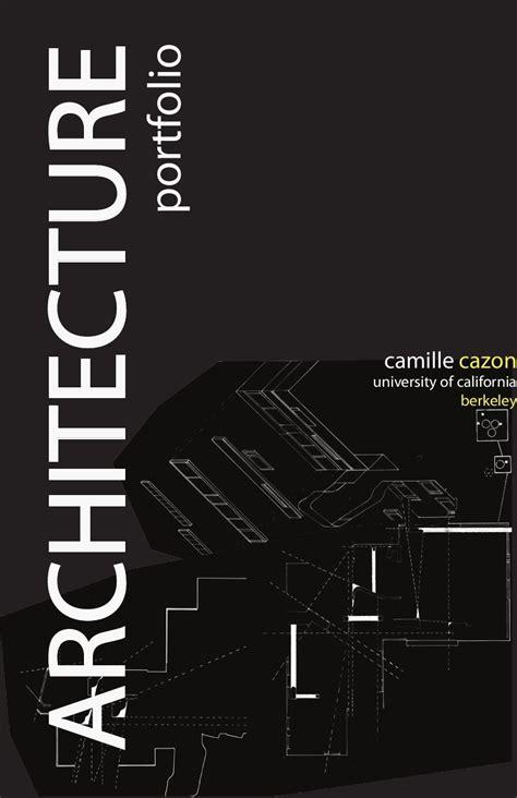 12772 architecture cover page design architecture portfolio by camille cazon issuu