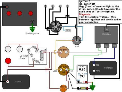 ignition tests schematics large post farmall cub