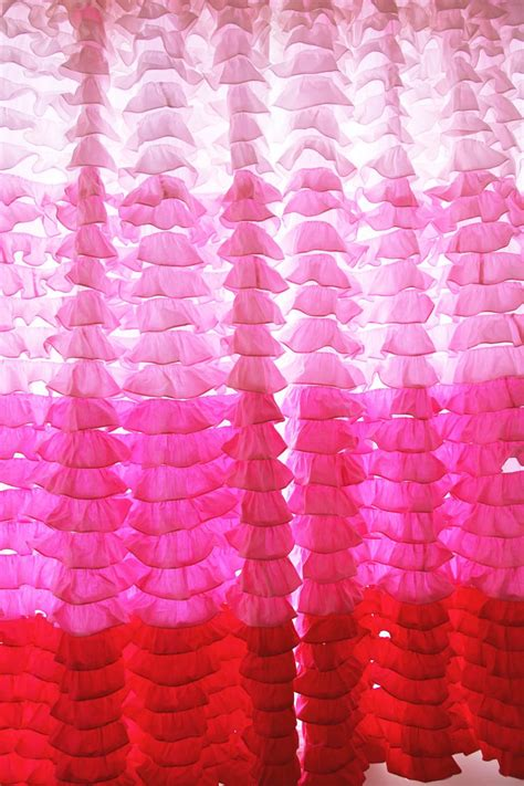 Pink Ruffle Curtains 96 by Ruffle Curtain