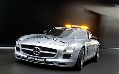Sls Amg Benz F1 Mercedes Safety 1920