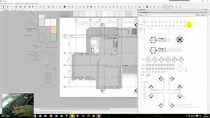 Layout Sketchup - Drawing Floor Plan - Part 01