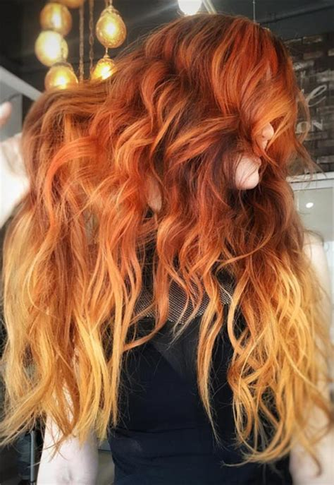 copper hair color shades  swoon  fashionisers