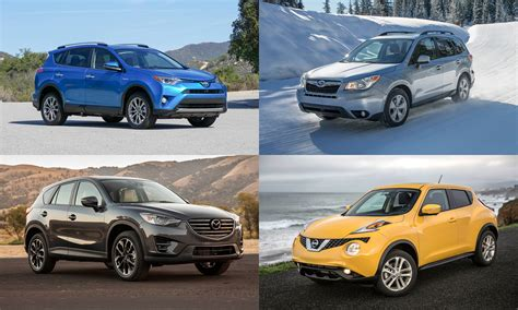 Most Fuel-efficient Suvs Of 2016
