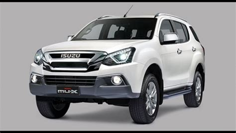 Isuzu Mux Photo by Isuzu Mu X 2018 Philippines Price Specs Autodeal