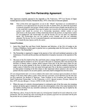 20 Printable free partnership agreement form Templates