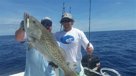 beach rigged ready gag blandon kevin pa holden myrtle north schucker capt charters sneed grouper jeff fishing struck jig roscoe