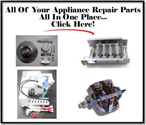 appliance replacement parts evaluate hardware