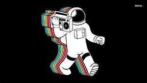 Astronaut with Boombox - Pics about space