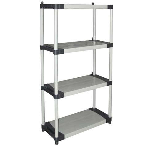 scaffali metallici componibili on line scaffale componibile ripiani cm in plastica grigio