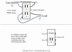 Wiring A Switch From A Receptacle Popular Leviton Decora 15  Tamper Resistant Combo Switch