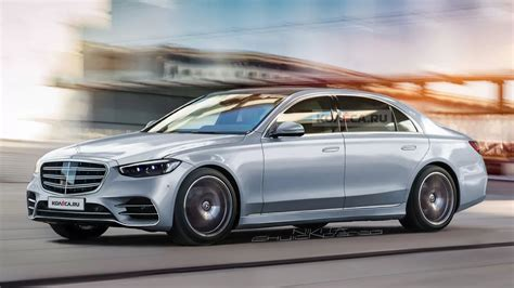 The mbux display has 50% faster processing power. 2021 Mercedes-Benz S-Class Accurately Previewed By New CGIs - Today's Automotive News