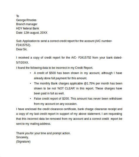 credit dispute letter template pdf amazing credit dispute letter templates letter format writing