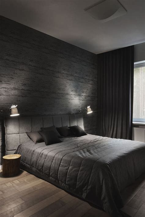 Gray And Black Bedroom by Best 25 Modern Mens Bedroom Ideas On