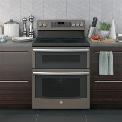 ge jbejes  freestanding electric double oven