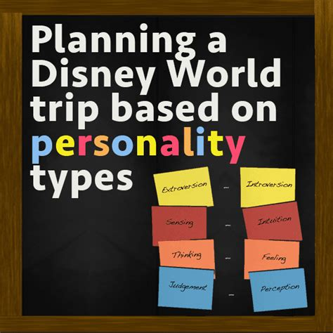 planning disney world trips based personality prep wdw prep