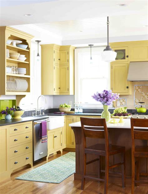 yellow kitchens with white cabinets style archive mellow yellow kitchen stacystyle s 1988