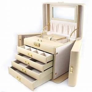 Coffret A Bijoux : coffret bijoux cuir empire ivoire achat vente boite a bijoux coffret bijoux cuir empi ~ Teatrodelosmanantiales.com Idées de Décoration