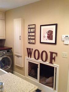 20 cool laundry room for pet lovers home design and interior for Dog room furniture