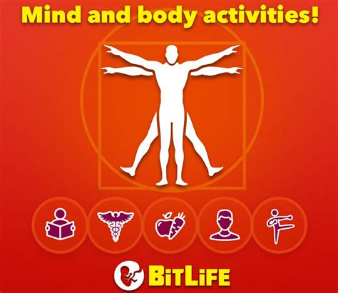bitlife simulator mind body