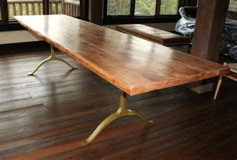 solid wood dining table  gold metal brass dining table