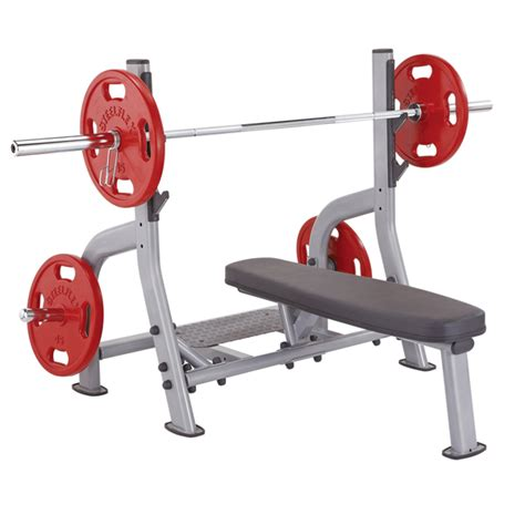 Steelflex Flat Olympic Weight Bench  Commercial Grade