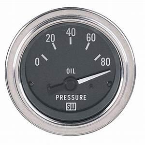 Find New Stewart Warner Deluxe Electric Oil Pressure Gauge