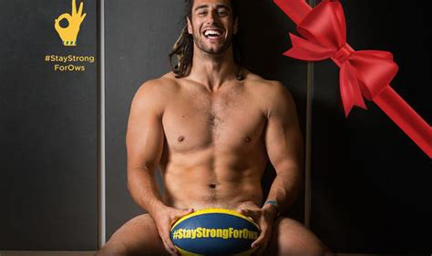 Raunchy Calendar Cardiff Blues Players Strip Down To Fundraise For Owen Williams Uk News