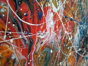 Drip painting big bang theory pollock style art by swarez for What kind of paint to use on kitchen cabinets for large acrylic wall art