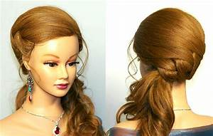 Wedding Prom Hairstyle For Long Hair Tutorial YouTube