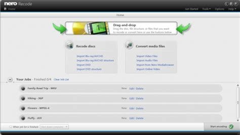 Nero recode is described as 'easy to use application, which supports transcoding various media source file formats to. Nero Recode Review / Dvd Recoding / This video is part of ...