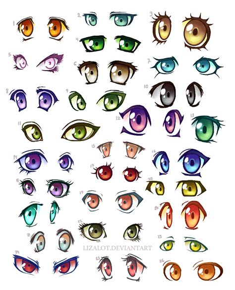 Anime Eye Palette Anime Color Www Imgkid The Image Kid Has It
