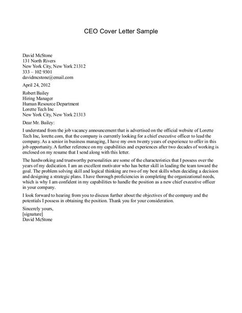 Sample Business Letter To A Ceo   Cover letter sample, Lettering, Creative writing programs