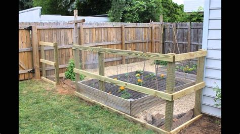 Gardens How To Build by How To Build A Garden Fence